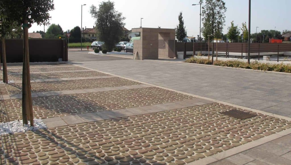 Acciottolato grigliato in calcestruzzo pavimento nel verda pavimento per parcheggi pvimento filtrante grigliato in calcestruzzo pavimento da giardino
