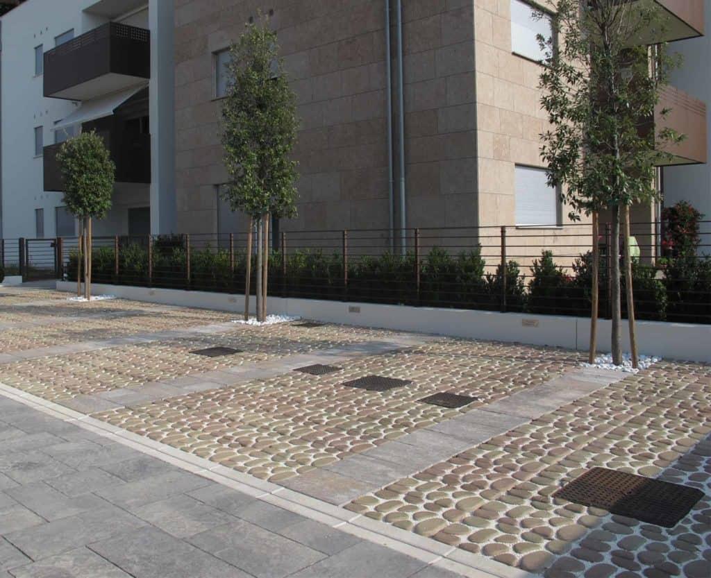 Acciottolato grigliato in calcestruzzo pavimento nel verda pavimento per parcheggi pvimento filtrante pavimento da giardino pavimento nel verde pavimento per parcheggi