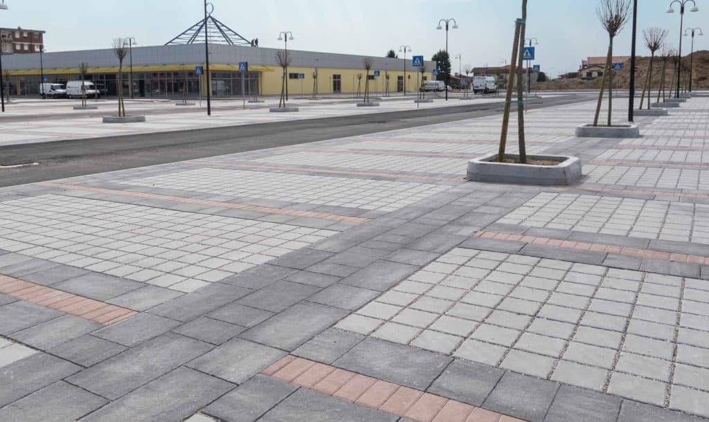 Aquadren pavimento drenante massello autobloccante Pavimentazione filtrante masello per parcheggi pavimento per parcheggi
