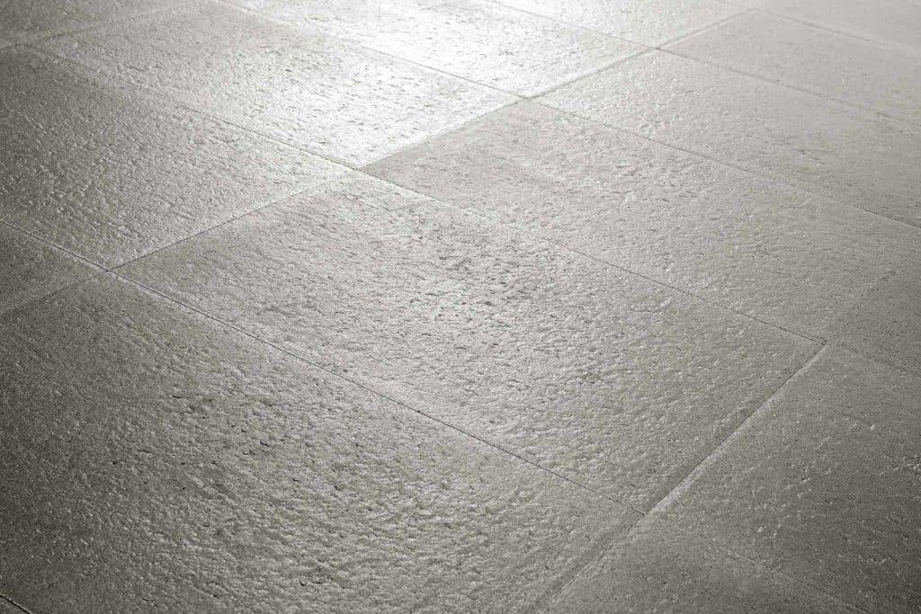 Confini lastra in calcestruzzo effetto pietra pavimento galleggiante grigio pavimento in colla