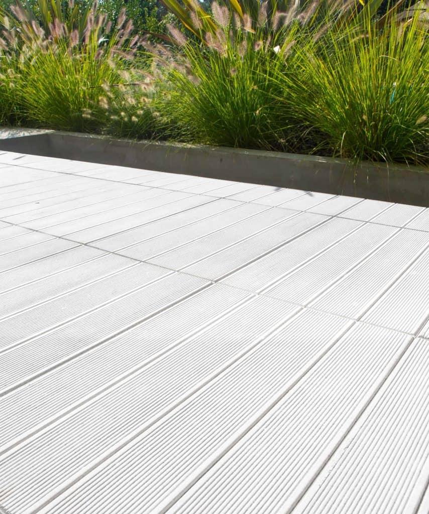 Doga Bianco lastra in calcestruzzo pavimento glaeggiante pavimento in colla