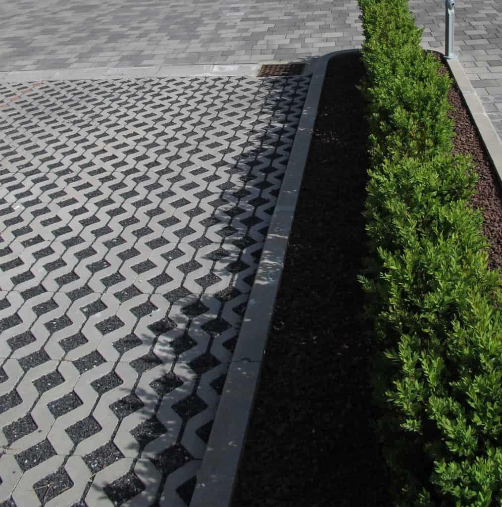 Gran park grigliato in calcestruzzo pavimento per esterni pavimentazione per parcheggi 1