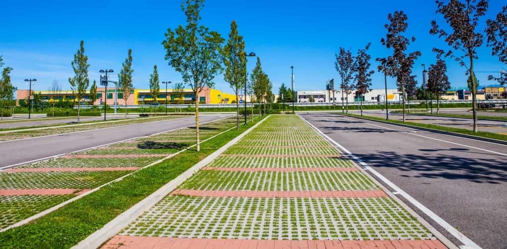 Quadro grigliato in calcestruzzo Outlet noventa pavimento carrabile per parcheggi Grigliato da esterno