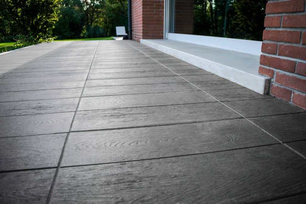 Tavole venete lastra in calcestruzzo pavimento galleggiante