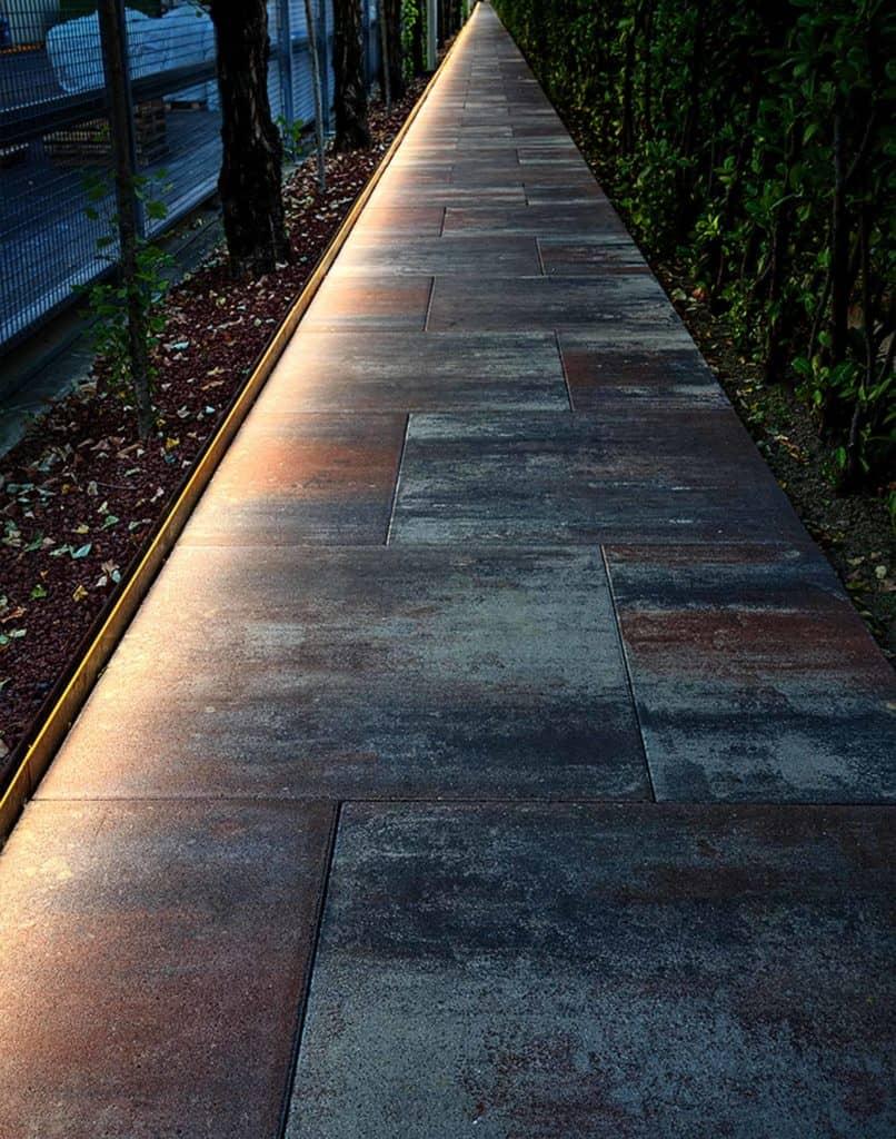 Veneto light  lampada da esterno viale pavimentazioen san benedetto