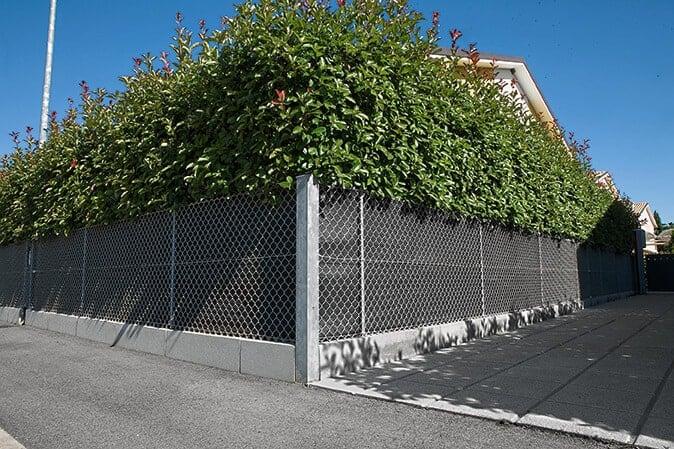 cordolo per recinzione
