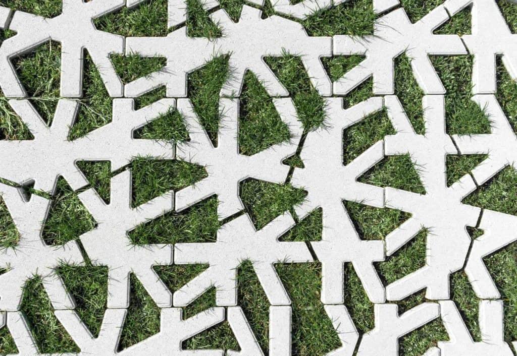 green carpet nest grigliato in calcestruzzo 6