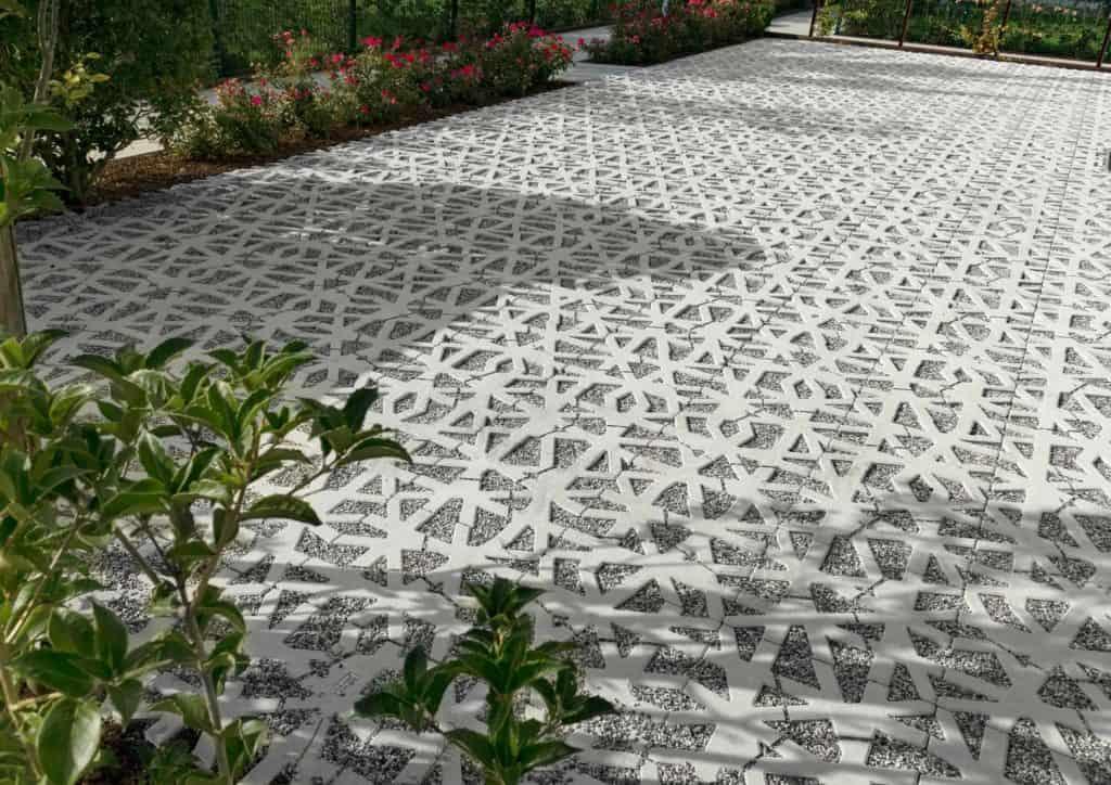 green carpet nest grigliato in calcestruzzo 7