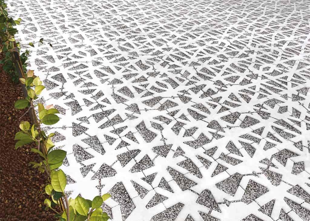 green carpet nest grigliato in calcestruzzo 8