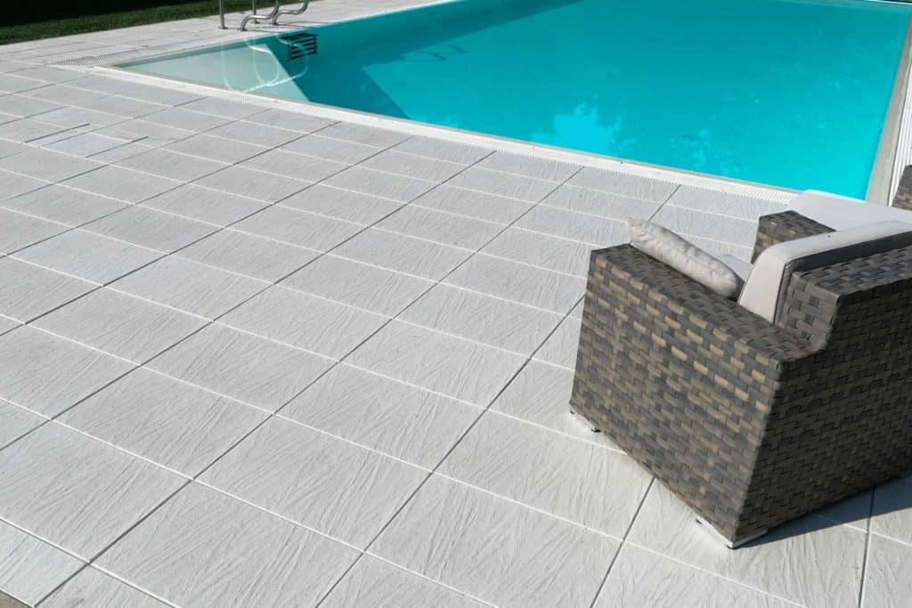 pietra di torino lastra in calcestruzzo pavimento galeggiante Pavimento piscina