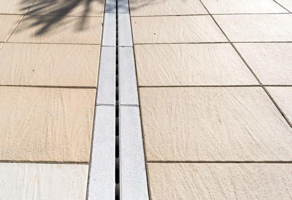 pietra di torino lastra in calcestruzzo pavimento galeggiante Pavimento su piedini canaletta di scolo