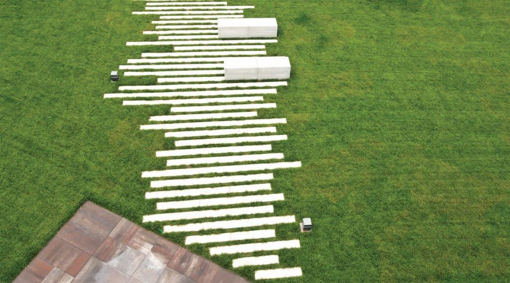 puntolinea panchine in calcestruzzo parco giardino pavimenti da giardino pavimenti con distanziale tribunale di vicenza