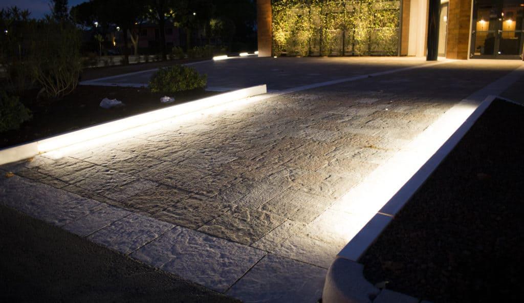 lampada da esterni shining curb favaro