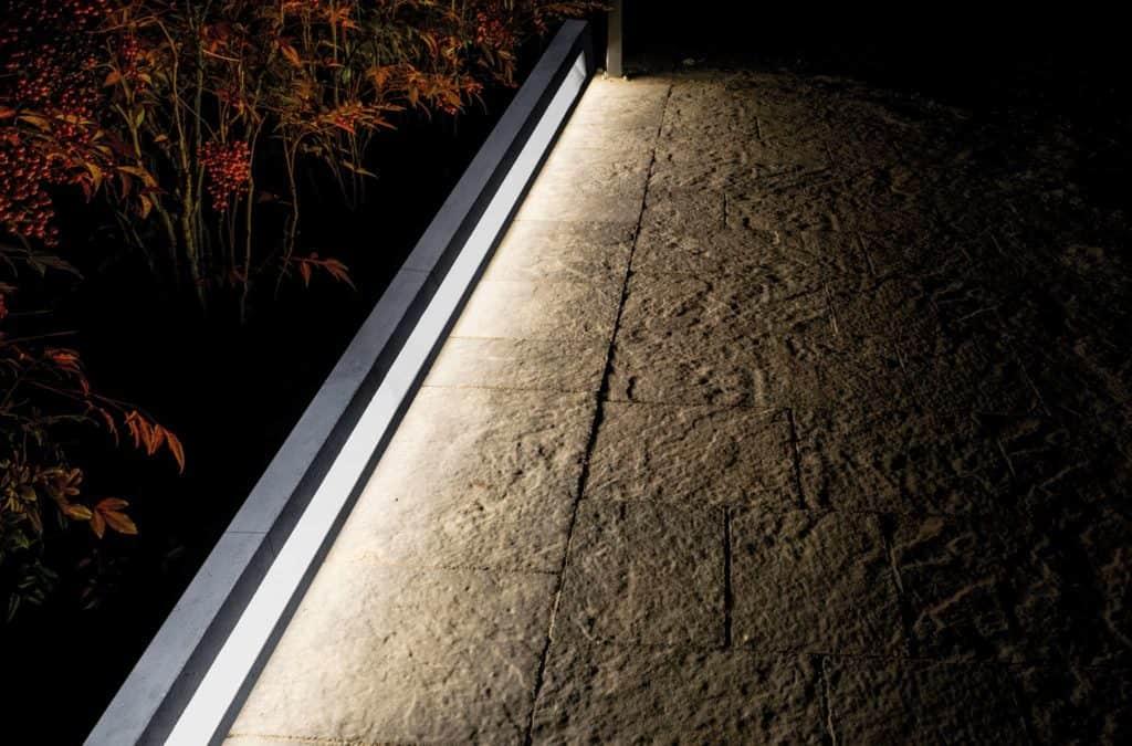 shining curb lampade da esterno 1